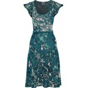 ミッソーニ M MISSONI レディース ワンピース ワンピース・ドレス Metallic jacquard-knit dress Petrol
