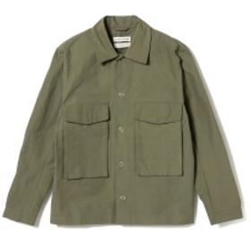 BEAMS A KIND OF GUISE / グランド オーバーシャツ メンズ カジュアルシャツ Olive S