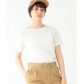 BEAMS BOY Hanes / POCKET-TEE レディース Tシャツ WHITE ONE SIZE