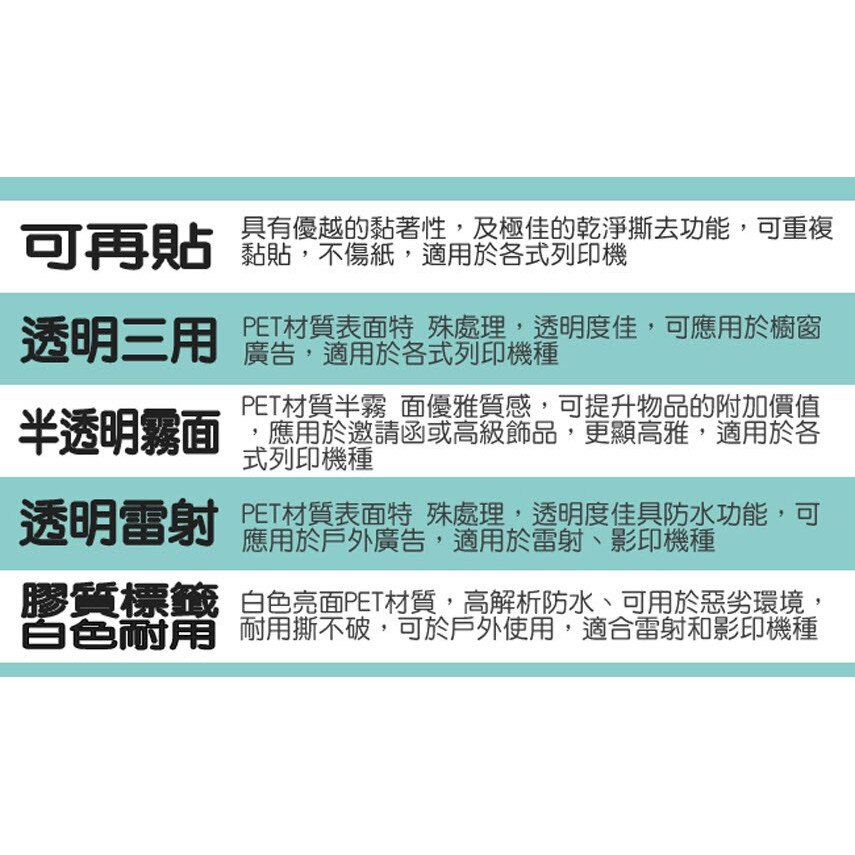 【longder龍德】電腦標籤紙 16格 LD-865-W-B 白色 1000張 影印 雷射 貼紙