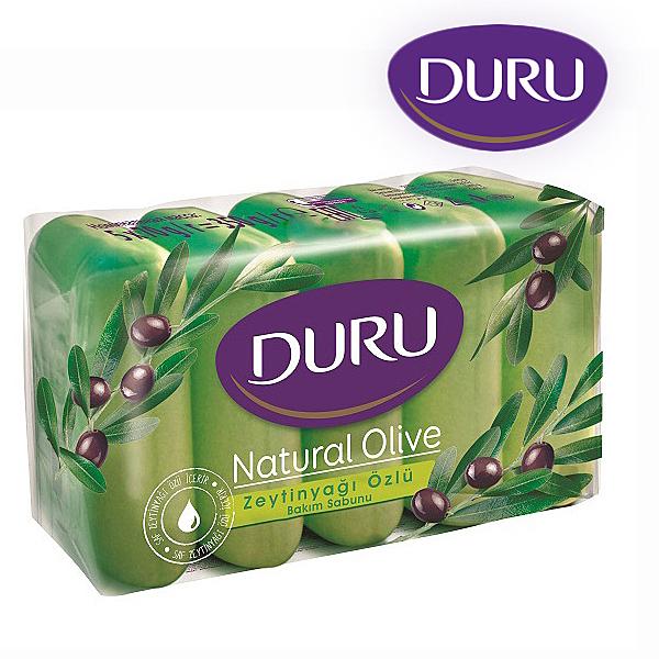 《五入組》土耳其 Duru 頂級橄欖油保濕呵護馬賽皂 70g x 5入【YES 美妝】