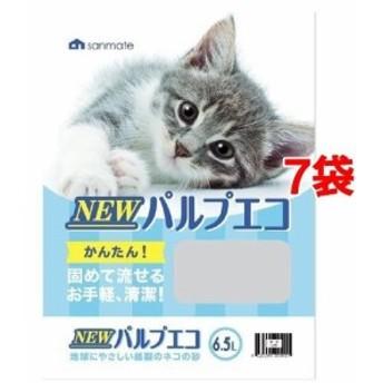 NEWパルプエコ(6.5L7袋セット)[猫砂・猫トイレ用品]