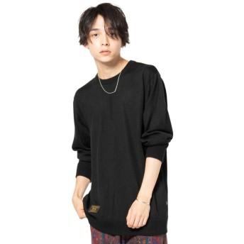グラム Hide pullover knit メンズ ブラック 2 【glamb】