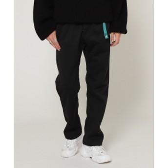 BEAMS GRAMICCI × BEAMS / 別注 フリース ナロー パンツ メンズ カジュアルパンツ BLACK S
