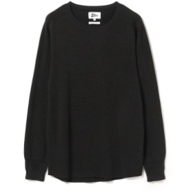 Pilgrim Surf+Supply Pilgrim Surf+Supply / Wolpe Thermal Waffle Ls Tee メンズ Tシャツ DARK CHARCOAL S