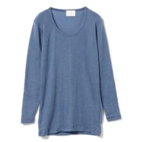 fennica <WOMEN>THERMADRY / クルーネック ロングスリーブTシャツ レディース Tシャツ SAX S