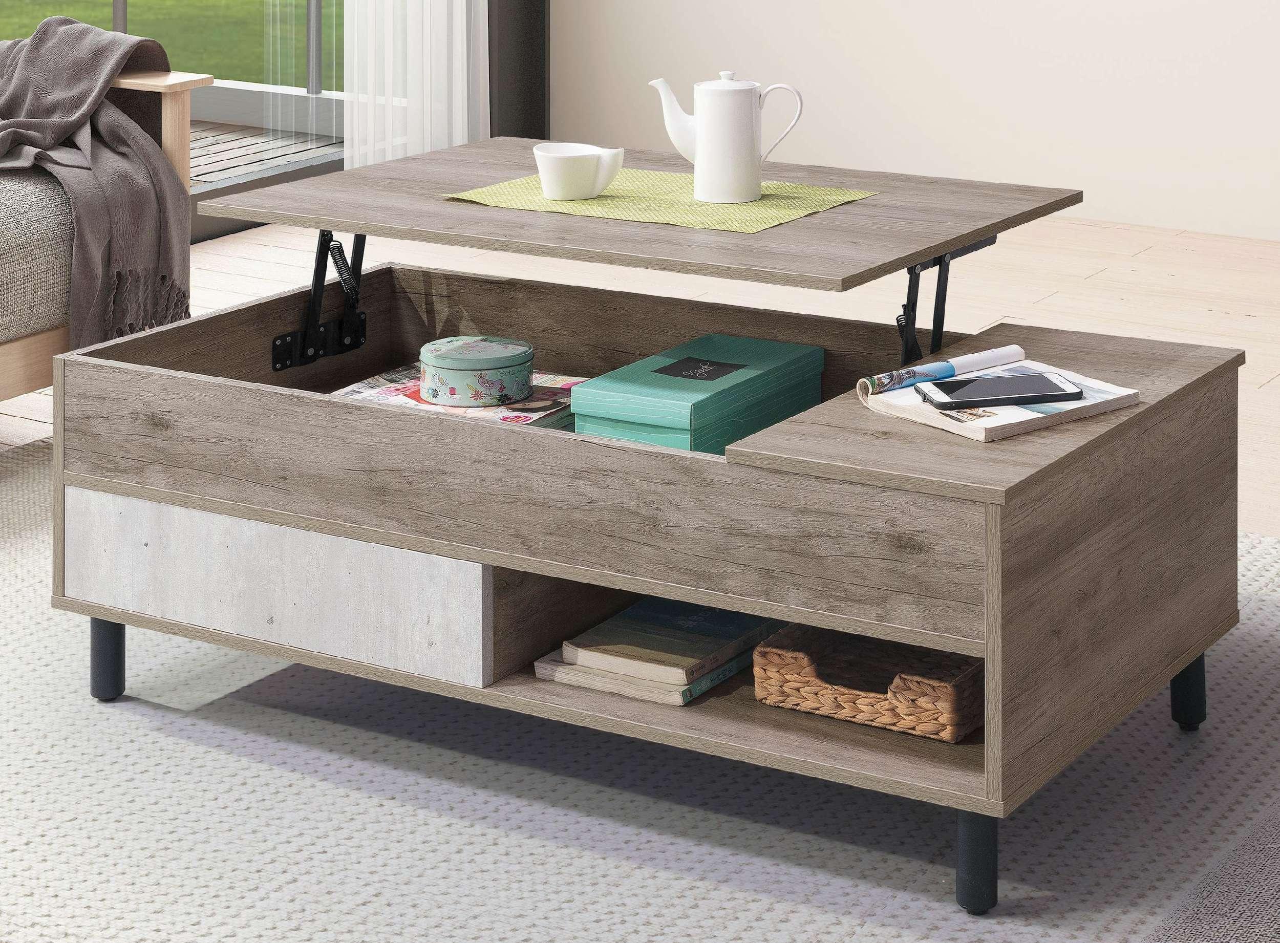 【簡單家具】,H252-01 布爾4尺升降茶几,大台北都會區免運費
