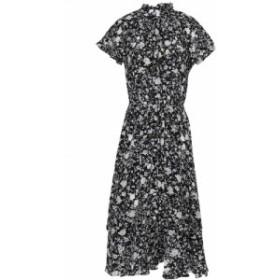 ジマーマン ZIMMERMANN レディース ワンピース ワンピース・ドレス Ruffled floral-print silk crepe de chine dress Off-white