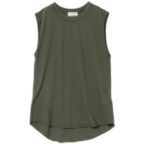 Ray BEAMS Ray BEAMS High Basic / 天竺 タンクトップ レディース Tシャツ OLIVE ONE SIZE