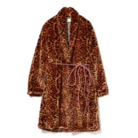 Ray BEAMS Aries / Leopard Fur Coat レディース その他コート LEOPARD S
