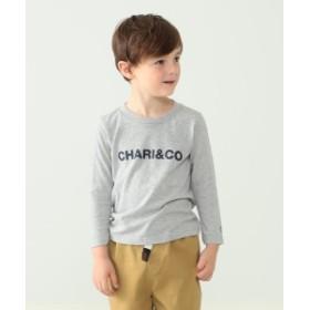 こども ビームス Chari & Co. / クルーネック ロングスリーブ Tシャツ 19(110~150cm) キッズ Tシャツ 杢GREY 130