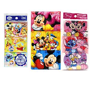 日本卡通面紙隨手包8枚*6包-2入(隨機出貨-女童款)