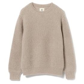 International Gallery BEAMS CILK / モヘヤ プルオーバーニット メンズ ニット・セーター BEIGE ONE SIZE