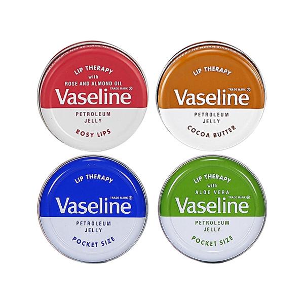Vaseline 凡士林 護唇膏(圓罐)【小三美日】D150117