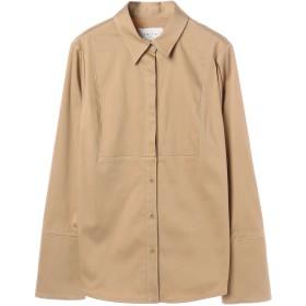 SALT+JAPAN バイカラーステッチシャツ シャツ・ブラウス,ベージュ