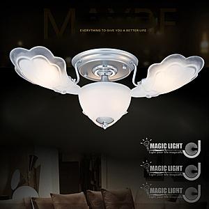 【光的魔法師】銀天使 半吸頂三燈 臥室燈具 吸頂燈飾