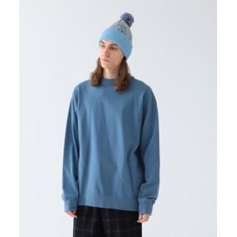 Pilgrim Surf+Supply Pilgrim Surf+Supply / ALBY BRUSHED JERSEY MOCKNECK メンズ Tシャツ SLATE M