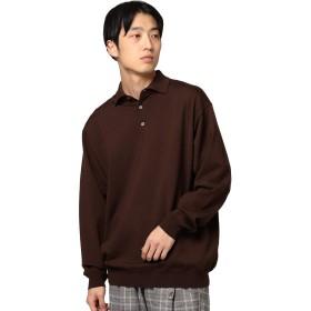 (ビームス)BEAMS/ポロシャツ / 14G ニット ポロシャツ メンズ ブラウン L