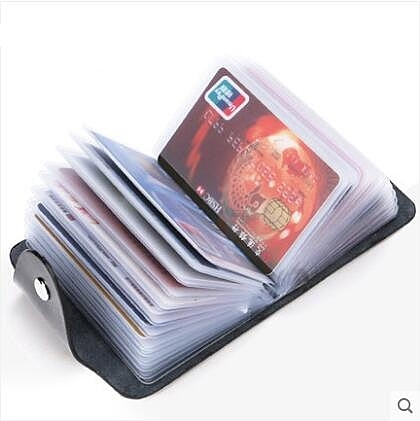 時尚女士卡包男士多卡位名片夾商務銀行信用卡套