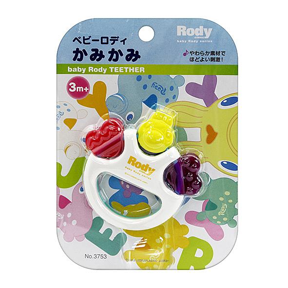 AKACHAN阿卡將 Rody造型搖鈴咬牙玩具