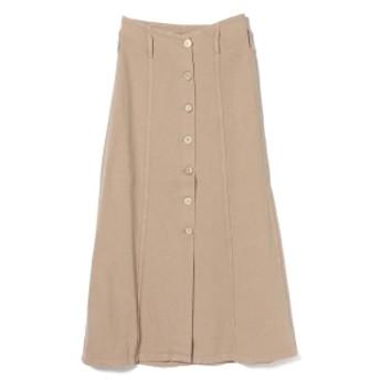 Demi-Luxe BEAMS NANUSHKA / デニム フロントボタン ロングスカート レディース マキシ・ロング丈スカート BEIGE S