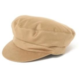 Demi-Luxe BEAMS KIJIMA TAKAYUKI / カシミヤウール マリンキャップ レディース ハンチング・ベレー帽 CAMEL ONE SIZE