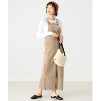 B:MING by BEAMS Lee × B:MING by BEAMS / 別注 サロペットスカート 19AW レディース ワンピース BEIGE S