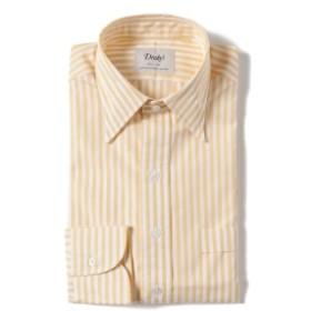 BEAMS F Drake's / 別注 ロンドンストライプ レギュラーカラー シャツ メンズ ドレスシャツ YELLOW/004 38