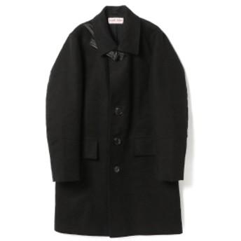 International Gallery BEAMS FRANK LEDER / ジャーマンレザーコート メンズ その他コート BLACK S