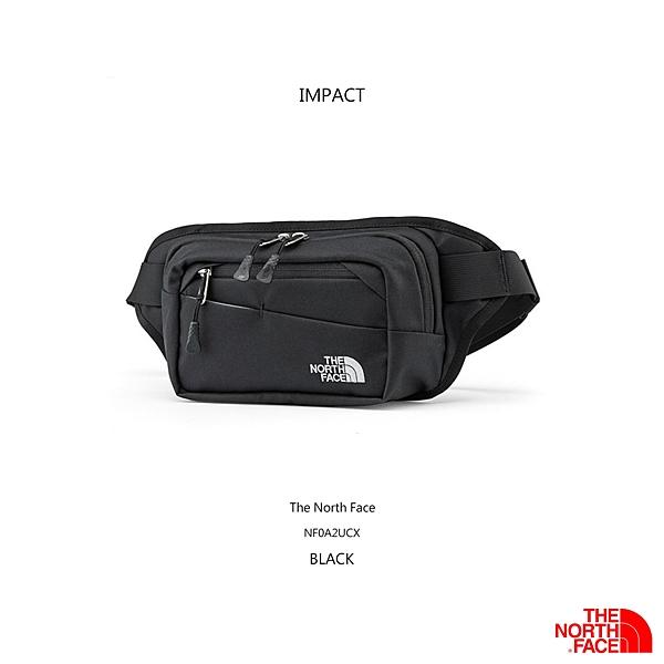 IMPACT The North Face 北面 北臉 黑 白 小背包 輕巧 便攜 腰包 側背包 斜肩 背包 NF0A2UCX