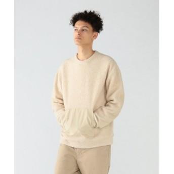 Pilgrim Surf+Supply Pilgrim Surf+Supply / Renny Wool Terry Sweatshirt メンズ パーカー OFF WHT L