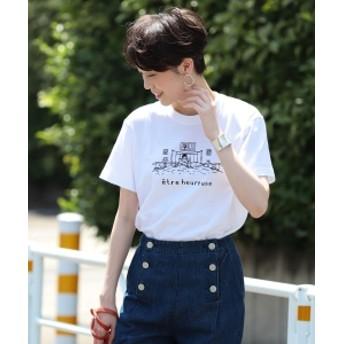 Ray BEAMS NAIJEL GRAPH × Ray BEAMS / 別注 GIRL in Bed Tシャツ レディース Tシャツ WHITE ONE SIZE