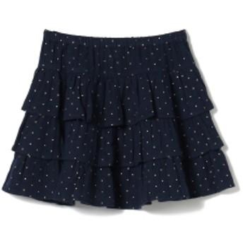 こども ビームス BONTON / SAFALE スカート 19(8~10才) キッズ 膝丈スカート BLEU LUNE 10y