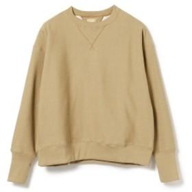 fennica <MEN>Sanca / Wフェイス クルーネック スウェットシャツ メンズ スウェット BEIGE 2