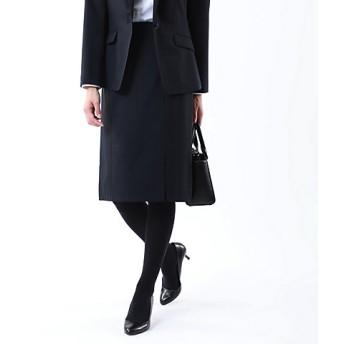 <TRANSWORK/トランスワーク>【セットアップ対応】【美Skirt】トロストライプストレッチスカート(U1S03225__) アオ【三越・伊勢丹/公式】