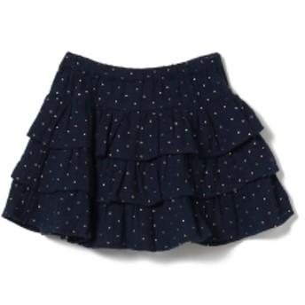 こども ビームス BONTON / SAFALE スカート 19(3~6才) キッズ 膝丈スカート BLEU LUNE 4y