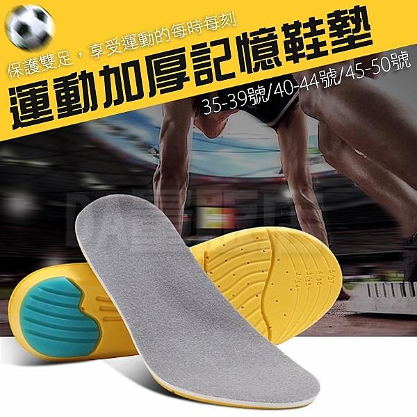 鞋墊 運動鞋墊 記憶鞋墊 減壓鞋墊 透氣鞋墊 加厚 柔軟彈回 記憶海綿 支撐 紓壓 尺寸可選