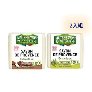 法國玫翠思植物皂(馬鞭草+乳木果油)100g-2入組合