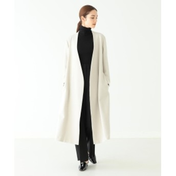 Demi-Luxe BEAMS Demi-Luxe BEAMS / カラーレス ロングコート レディース その他コート GREIGE 36