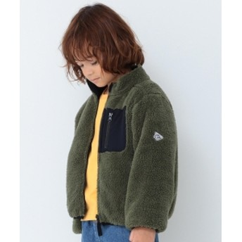 B:MING by BEAMS B:MING by BEAMS / ボア リバーシブル ブルゾン 19AW キッズ ブルゾン OLIVE 90