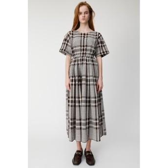 【マウジー/MOUSSY】 CHECK H/S FLARE ドレス