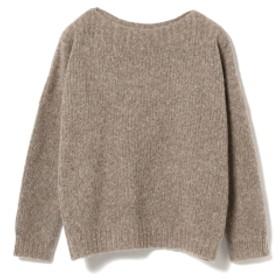 fennica <WOMEN>Atelier Delphine / Tere ベビーアルパカ ルーズフィット セーター レディース ニット・セーター BROWN M/L