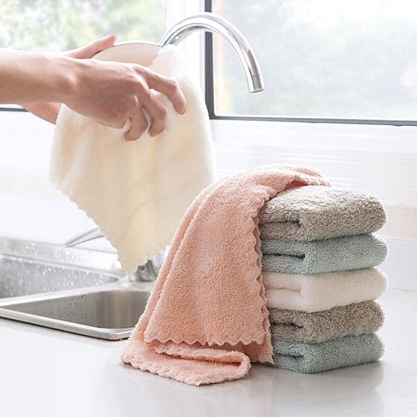 吸水力超強 珊瑚絨 吸水抹布 廚房毛巾 洗碗布 擦地板抹布 擦桌布 洗車布