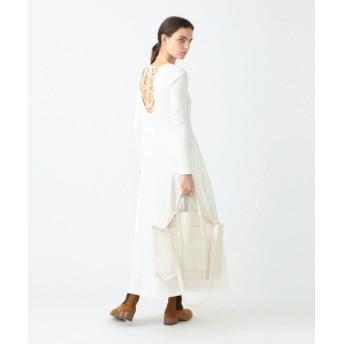 Pilgrim Surf+Supply R JUBILEE for Pilgrim Surf+Supply / Back LaceUp Dress レディース その他ワンピース OFF WHITE M