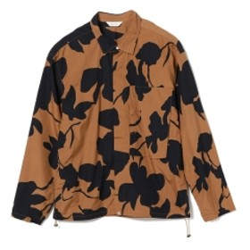 BEAMS WELLDER / ドローストリング シャツ メンズ カジュアルシャツ Darkoak×Navy Pattern 4
