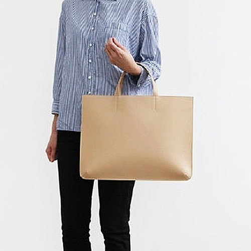 韓版簡約手拎包女手提包A4文件包OL商務辦公包公文包筆 伊蒂斯 交換禮物