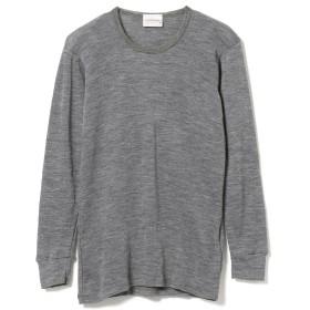 fennica <MEN>THERMADRY / クルーネック ロングスリーブTシャツ メンズ Tシャツ GREY L