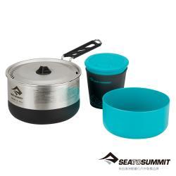 Sea to Summit-Sigma 折疊鍋具組-1.1 (含1人餐具組)-STSAPOTSIGSET1.1