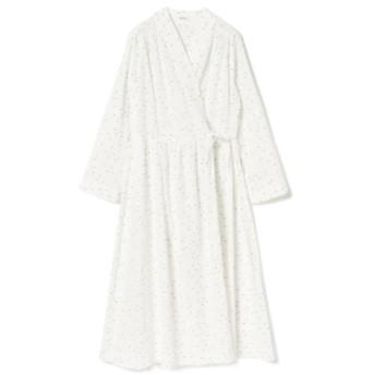 Ray BEAMS GHOSPELL / Moonlight Midi Wrap Dress レディース ワンピース IVORY S