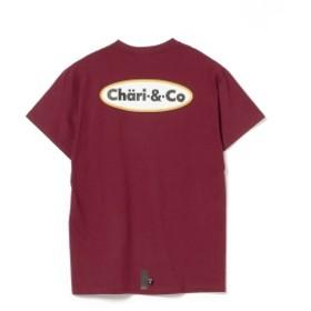 BEAMS T CHARI & CO / ICE CREAM LOGO TEE メンズ Tシャツ BURGUNDY XL
